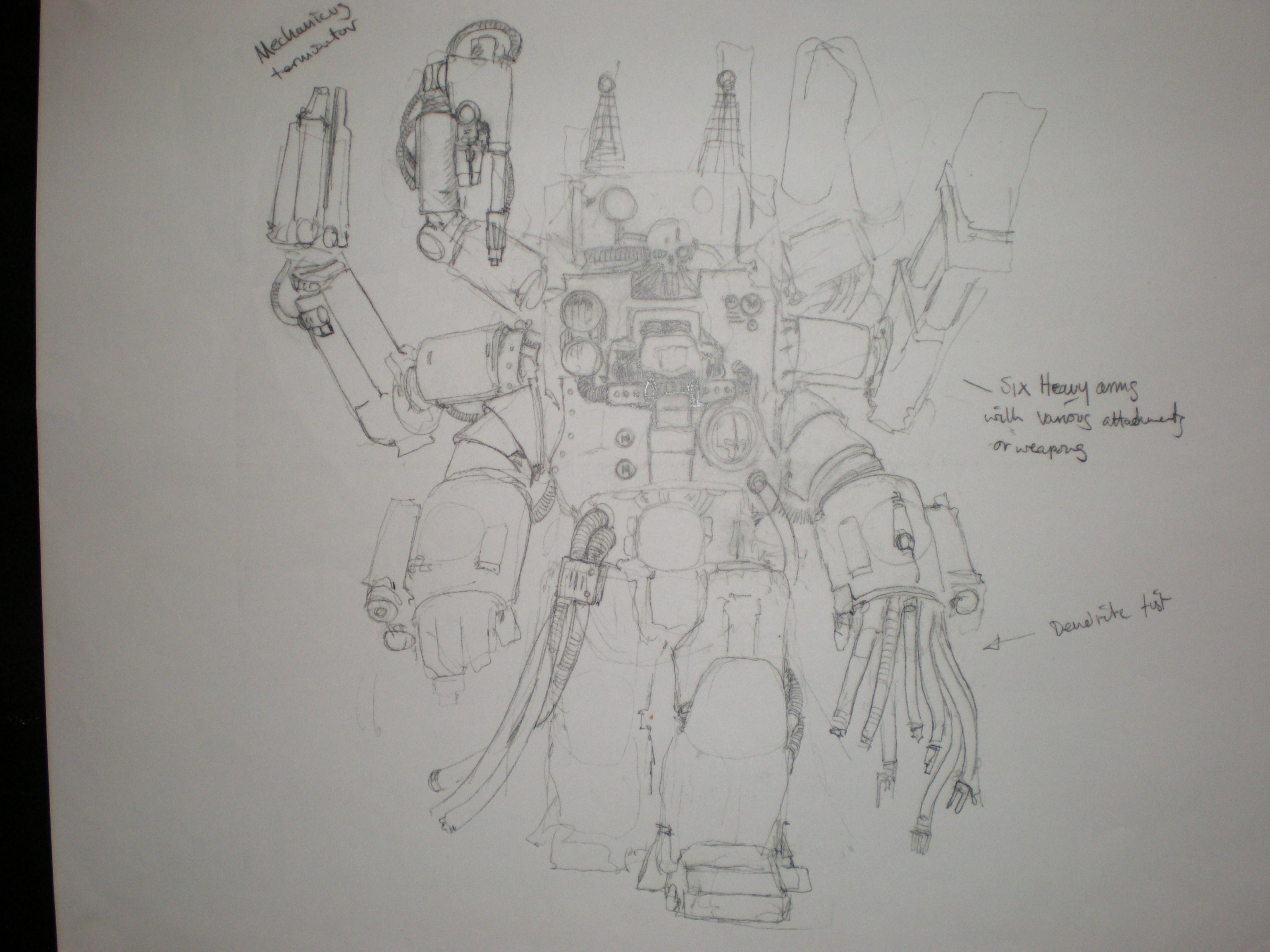 Concept, Techmarine