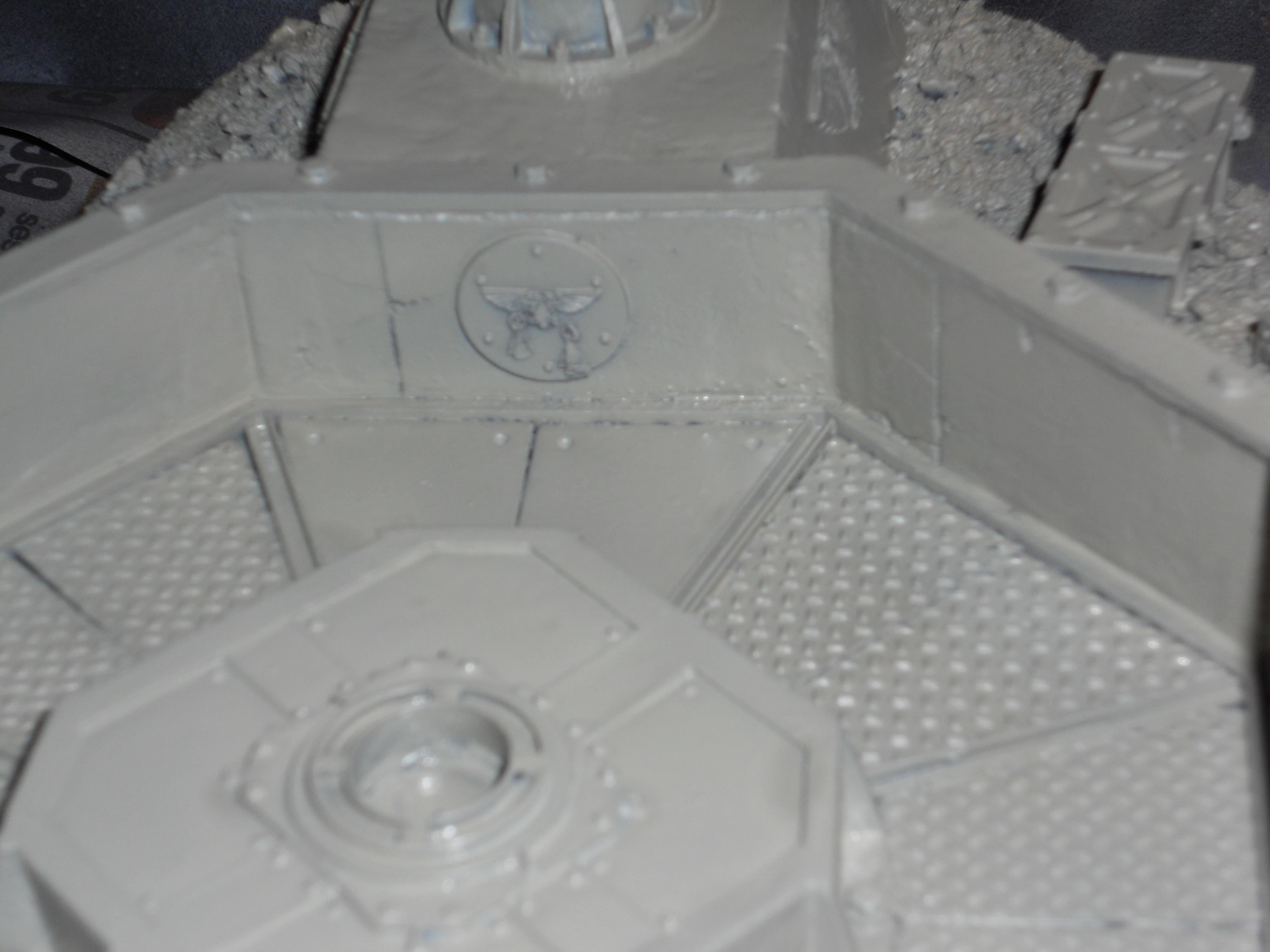 Hydra Flak, Detail shot of 'blessed placard'