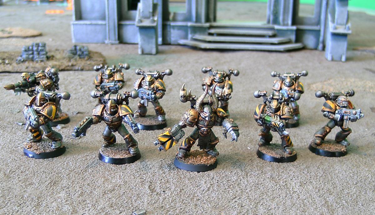 Chaos, Chaos Space Marines, Iron Marauders, Iron Warriors, Ouze, Warhammer 40,000, Work In Progress, Worklog