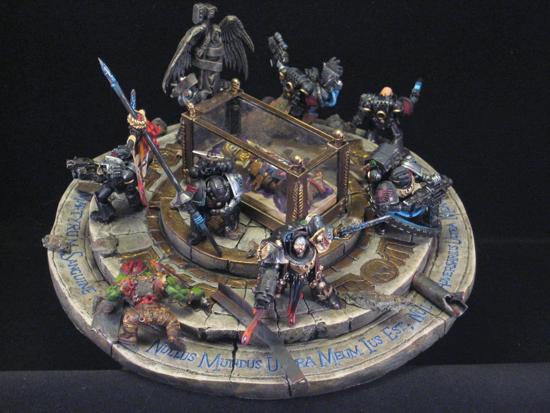 Deathwatch, Diorama, Relic, Space Marines, Warhammer 40,000