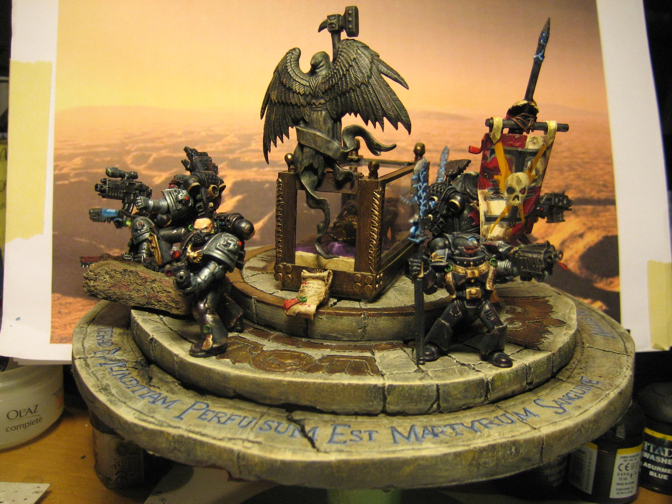 Deathwatch, Diarama, Grey Knights, Space Marines