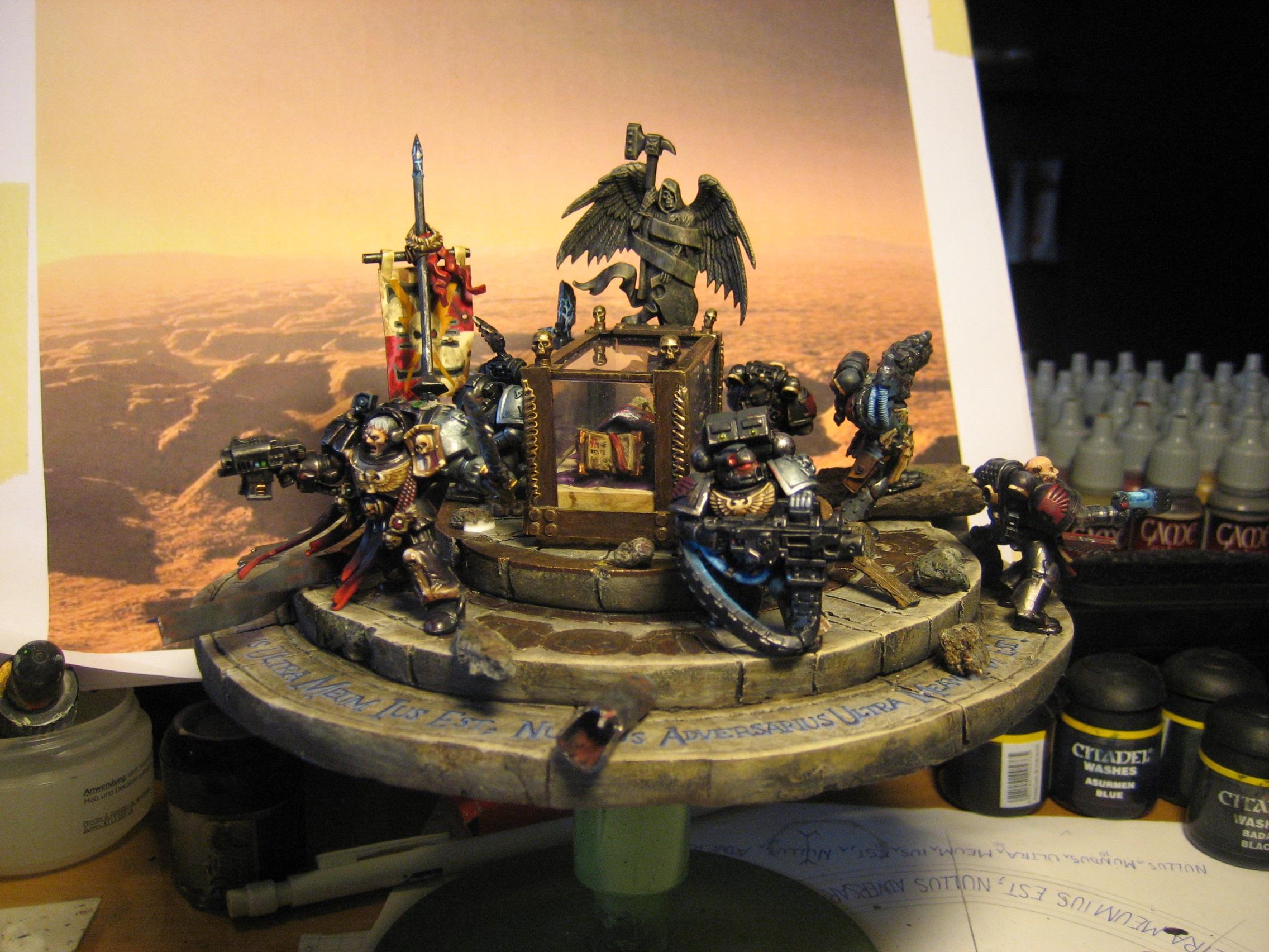 Deathwatch, Diorama, Space Marines