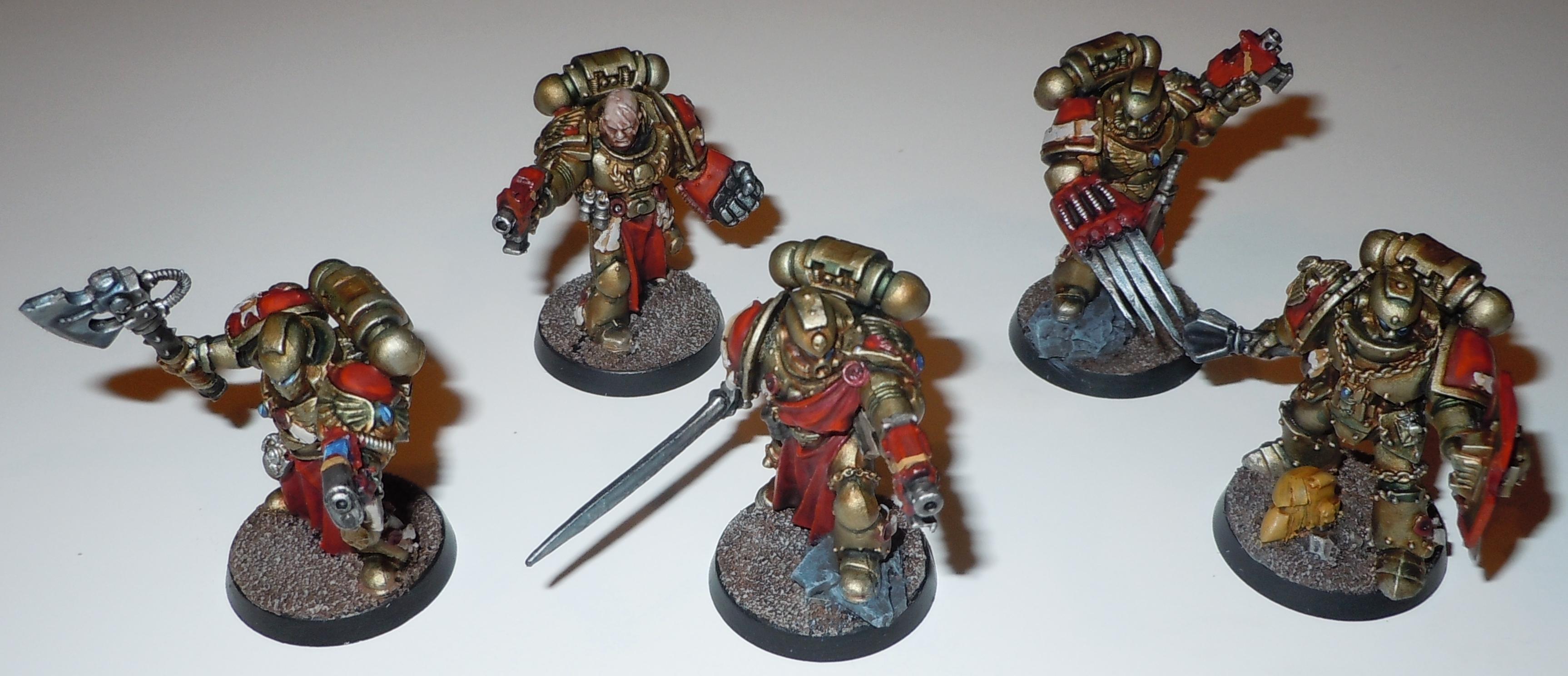 Badab War, Minotaurs, Space Marines, Vanguard, Veteran