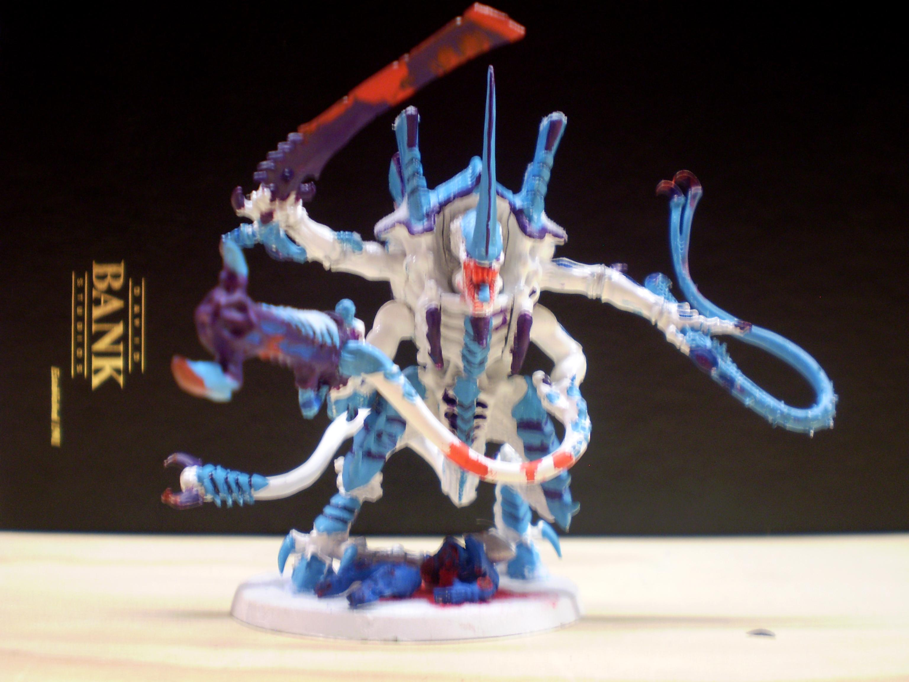 Hive Tyrant, front