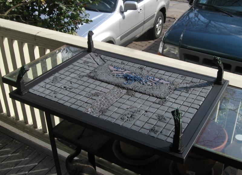 Display Board, Harrowed, Terrain