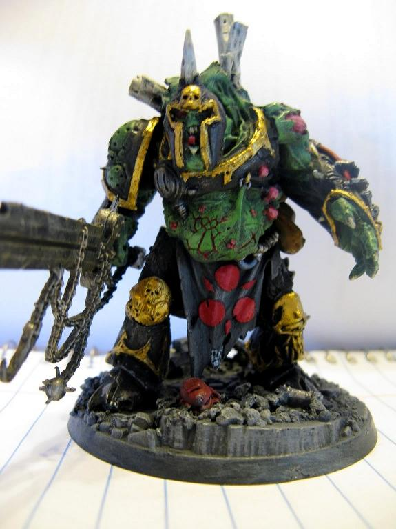 Chaos, Chaos Space Marines, Nurgle, Space Marines