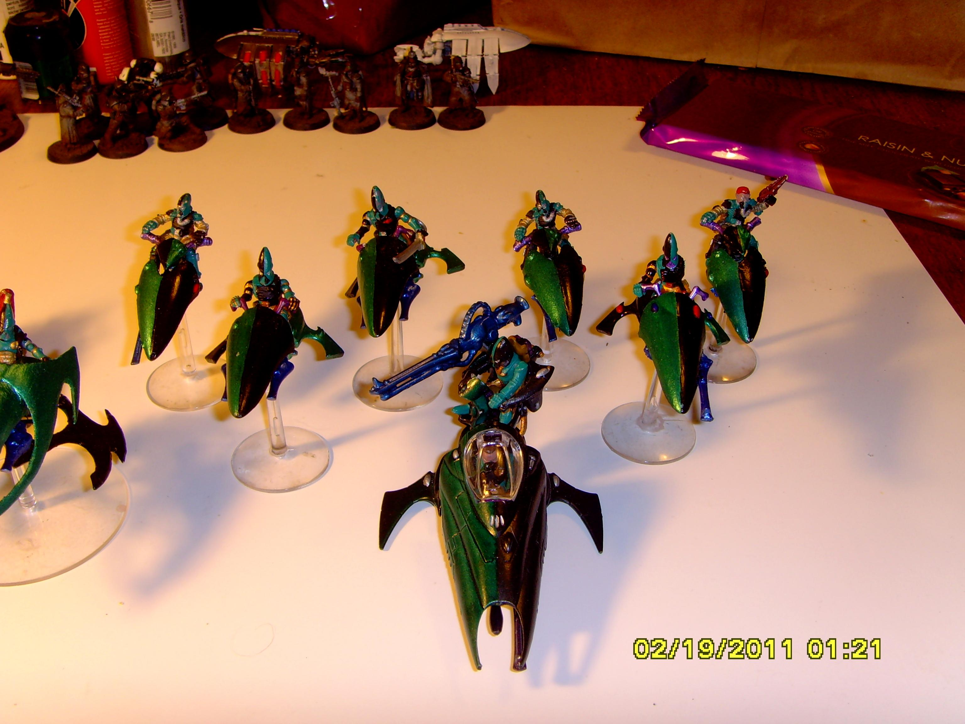 Apocalypse, Army Profile, Autarch, Banshees, Conversion, Craftworld, Dark Reapers, Eldar, Farseers. Guardians, Harlequins, Jetbike, Phoenix Lords, Rangers, Scorpion, Vehicle, Venom, Warhammer 40,000, Warlock, Work In Progress
