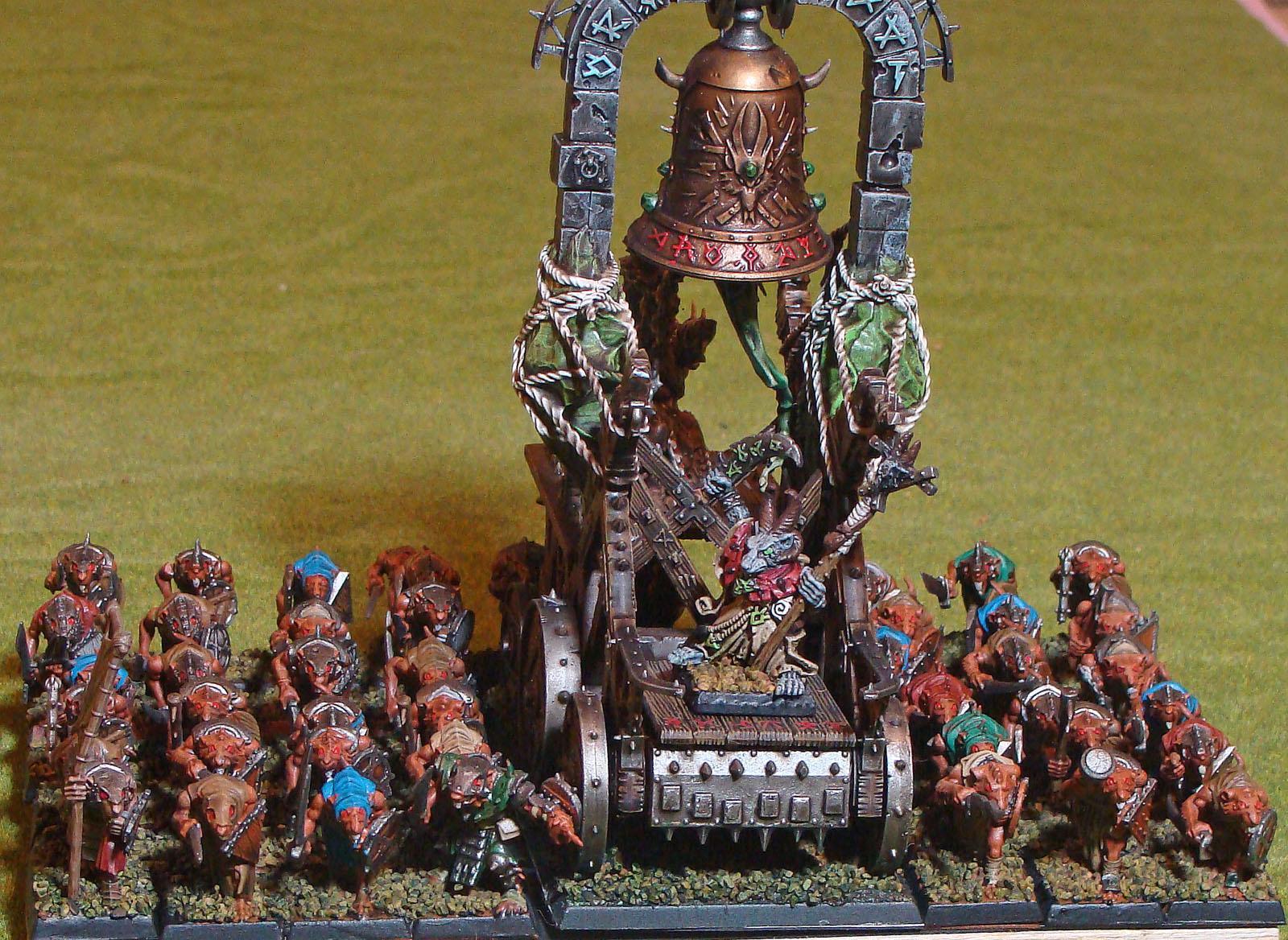 Clanrats, Screaming Bell, Skaven, Warhammer Fantasy