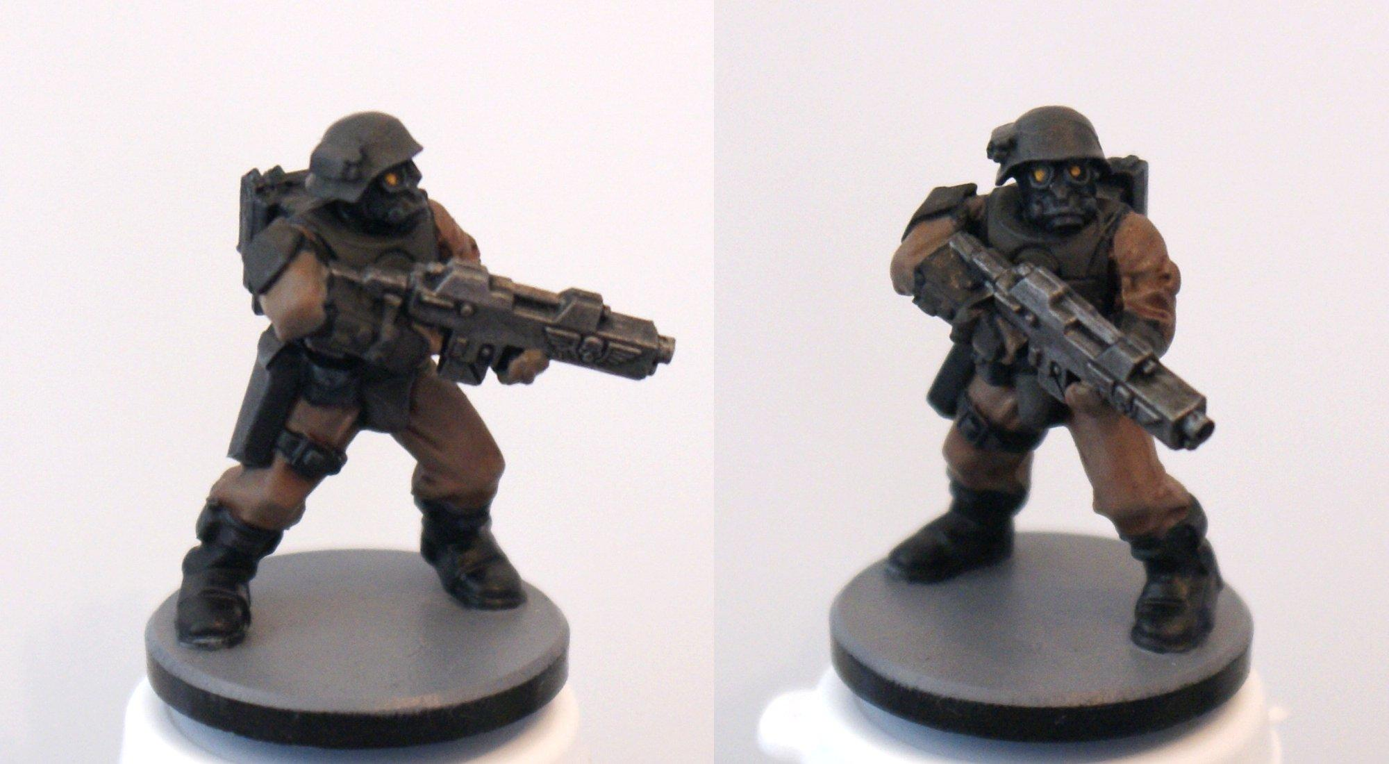 Imperial Guard Infantry Test Model