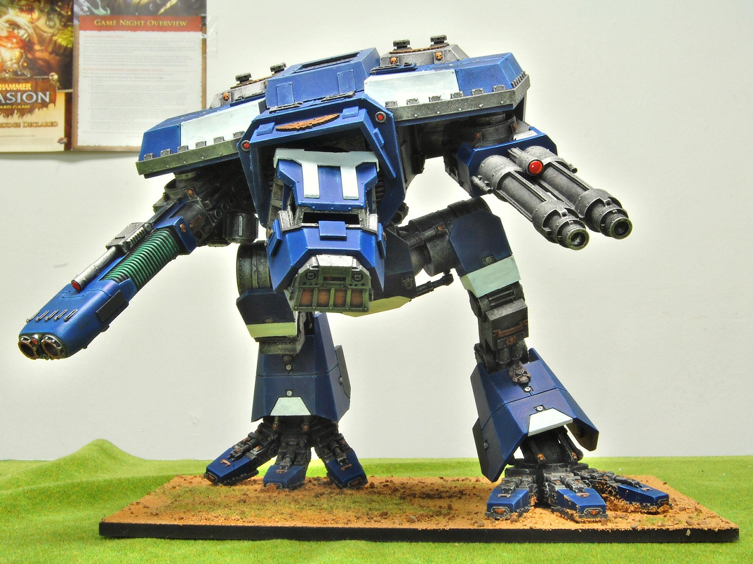 Apocalypse, Forge World, Imperium, Super-heavy, Titan, Titanicus, Warhammer 40,000, Warhound