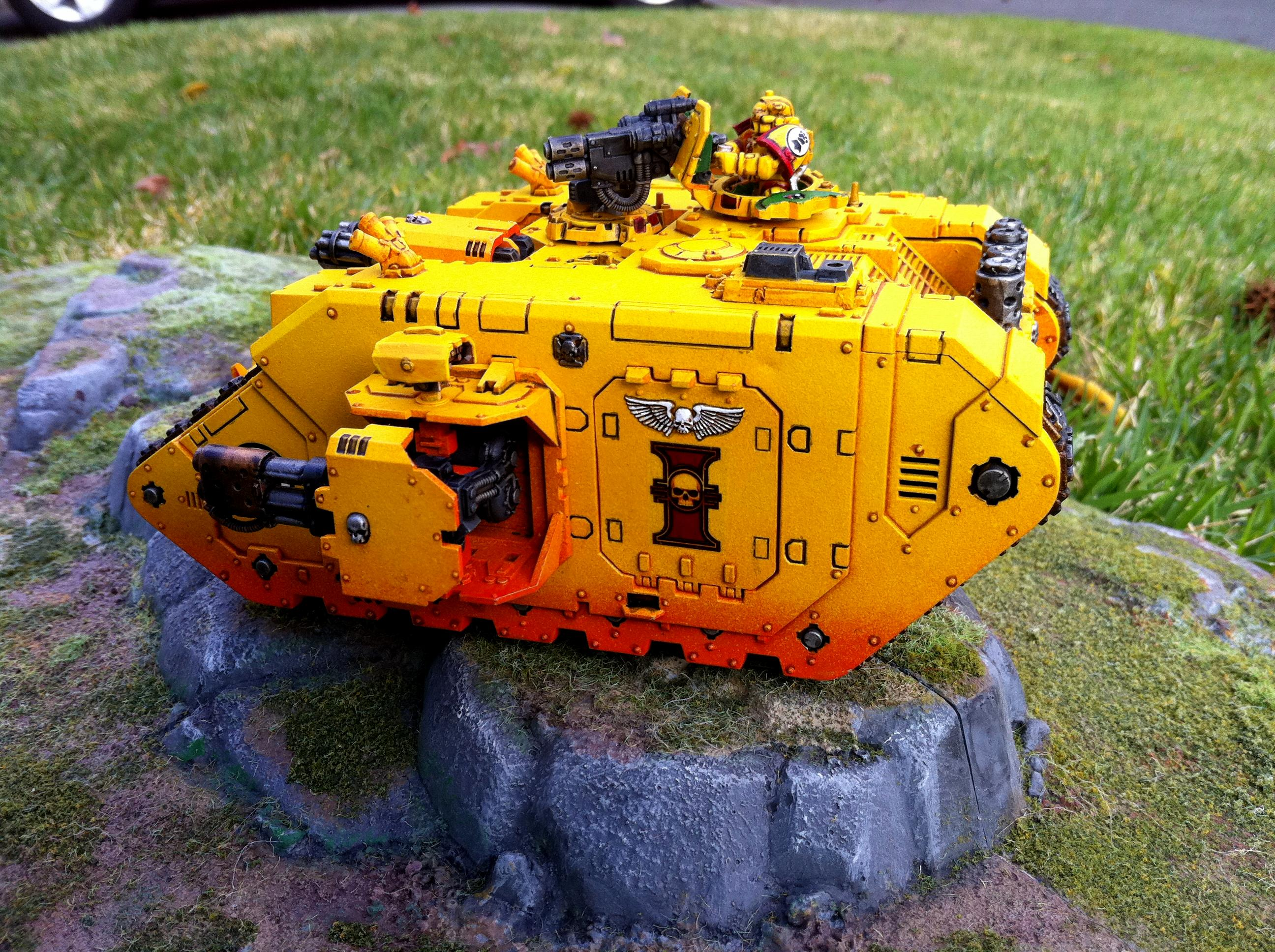 Fists, Imperial, Imperial Fists, Redeemer