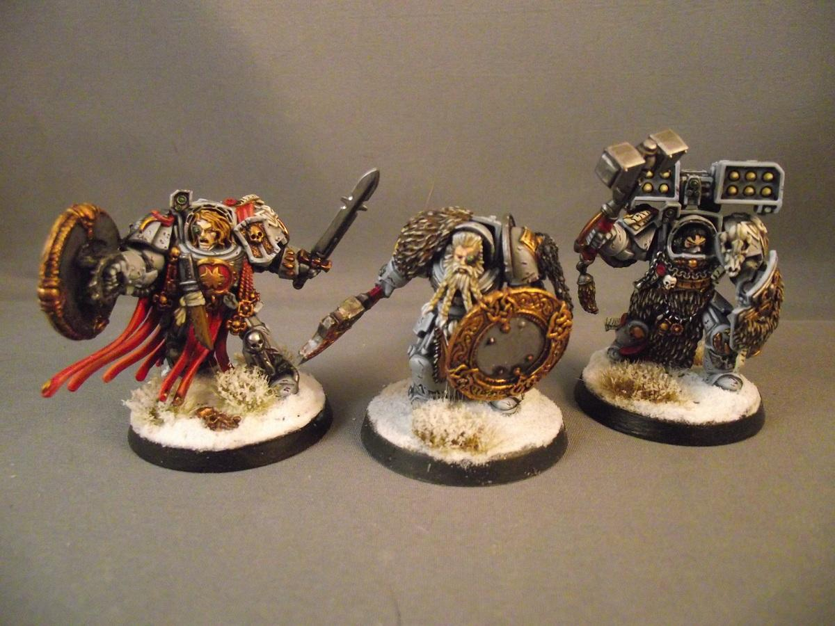 Conversion, Space Wolves, Warhammer 40,000, Wolf Guard