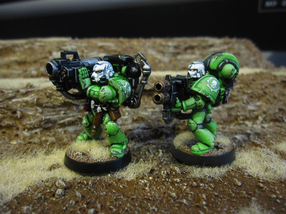 Badab War, Missile Launcher, Multimelta, Sons Of Medusa, Space Marines, Warhammer 40,000