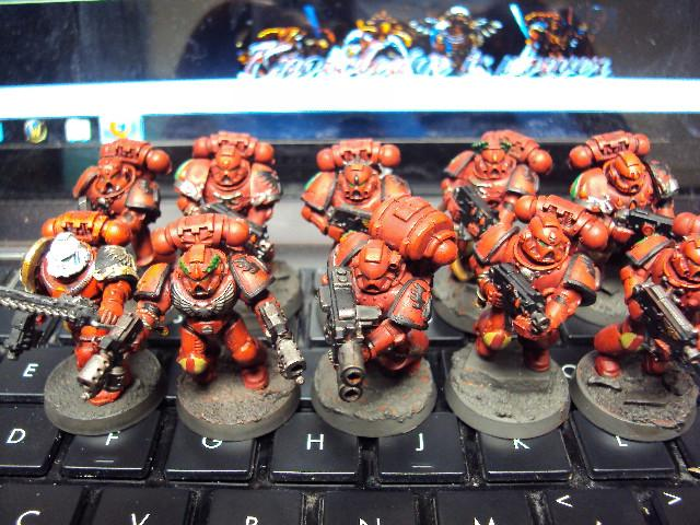 Blood Angels, Squad Venetor, 3rd Squad, 4th Company