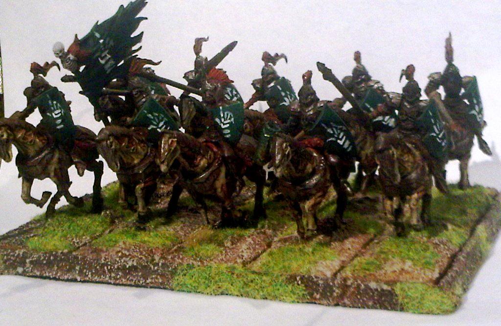 Mantic, Revenant Cavalry, Revenant Cavalry Regiment, Skeletons, Undead