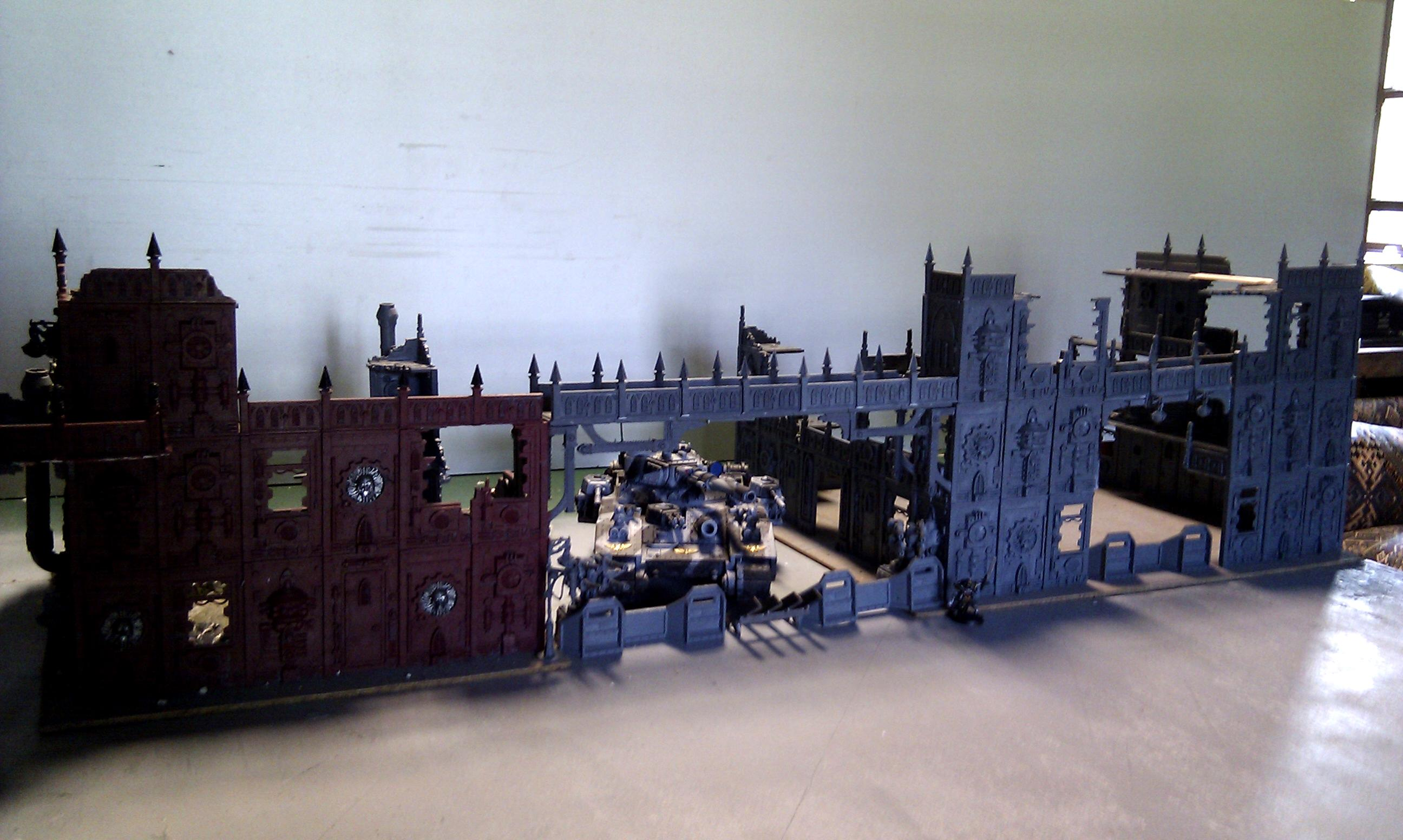Buildings, Cities Of Death, Manufactorum, Stronghold
