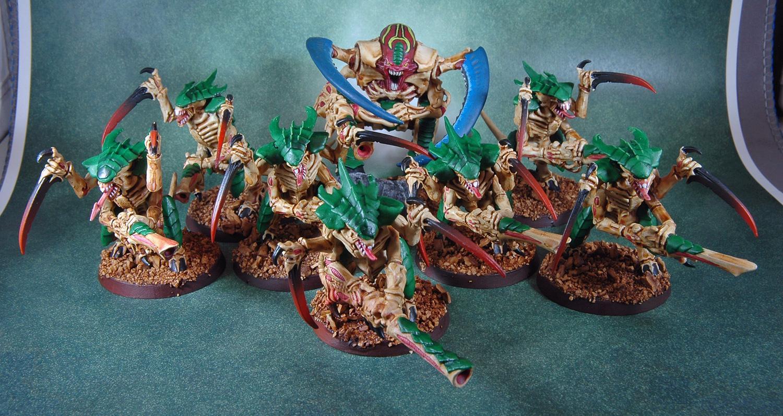 Conversion, Tyranids, Warhammer 40,000, Warrior Squad