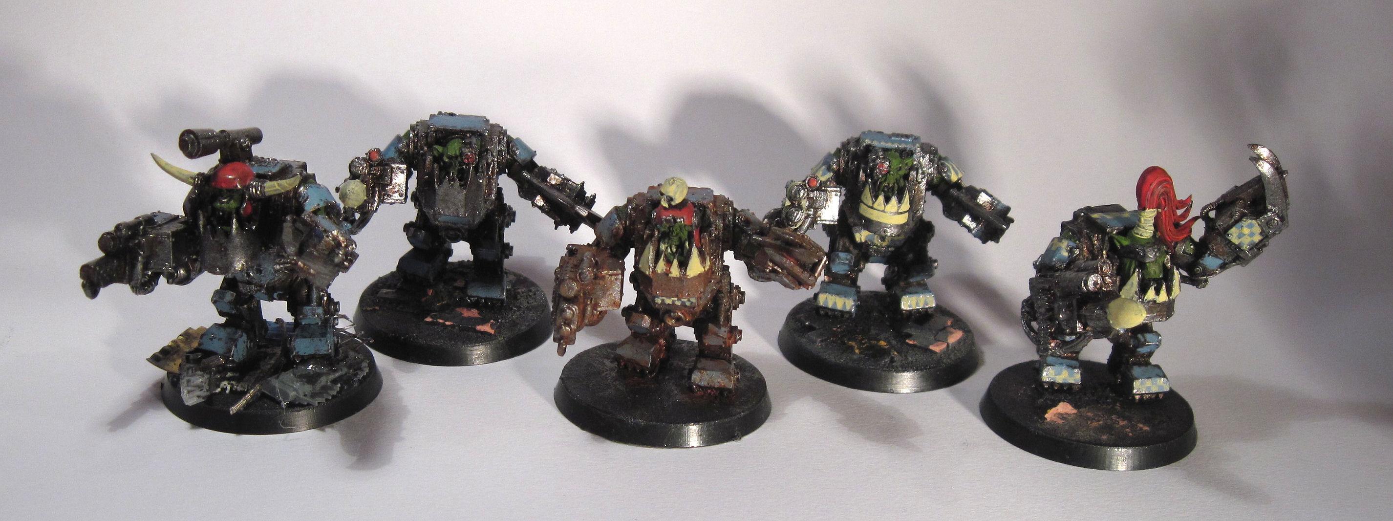 Deathskulls, Mega-armour, Meganob, Orks
