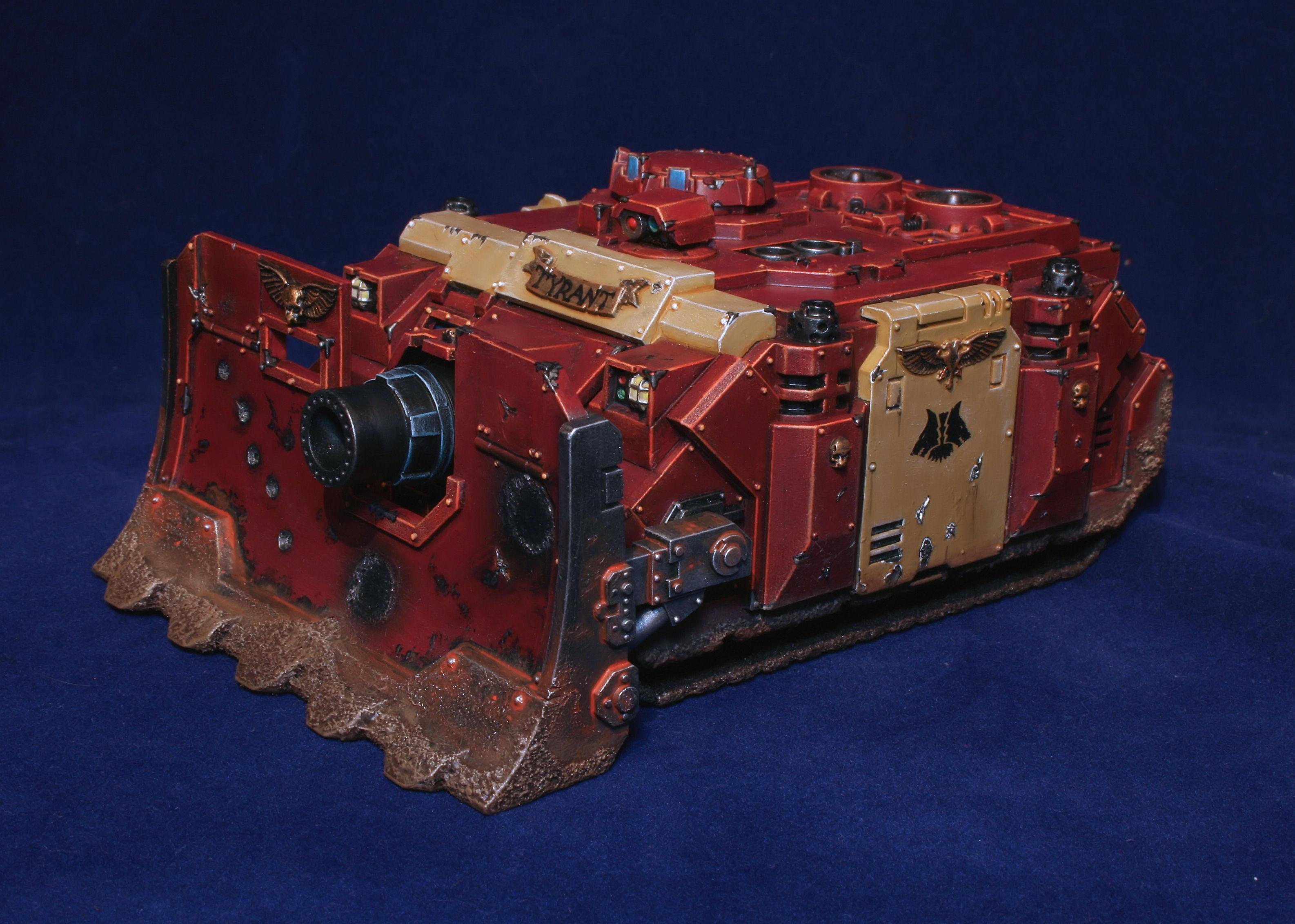 Lycan, Space Marines, Tank