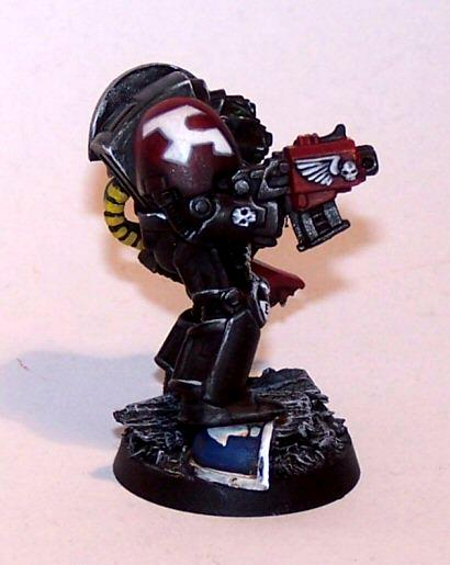 Death Watch, Space Marines, Terminator Armor