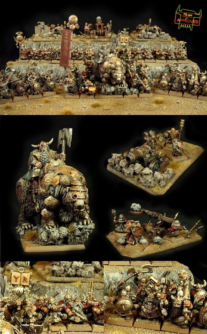 Army, Awesome, Bear, Display Board, Dwarves, Orki, Tmm, Warhammer Fantasy