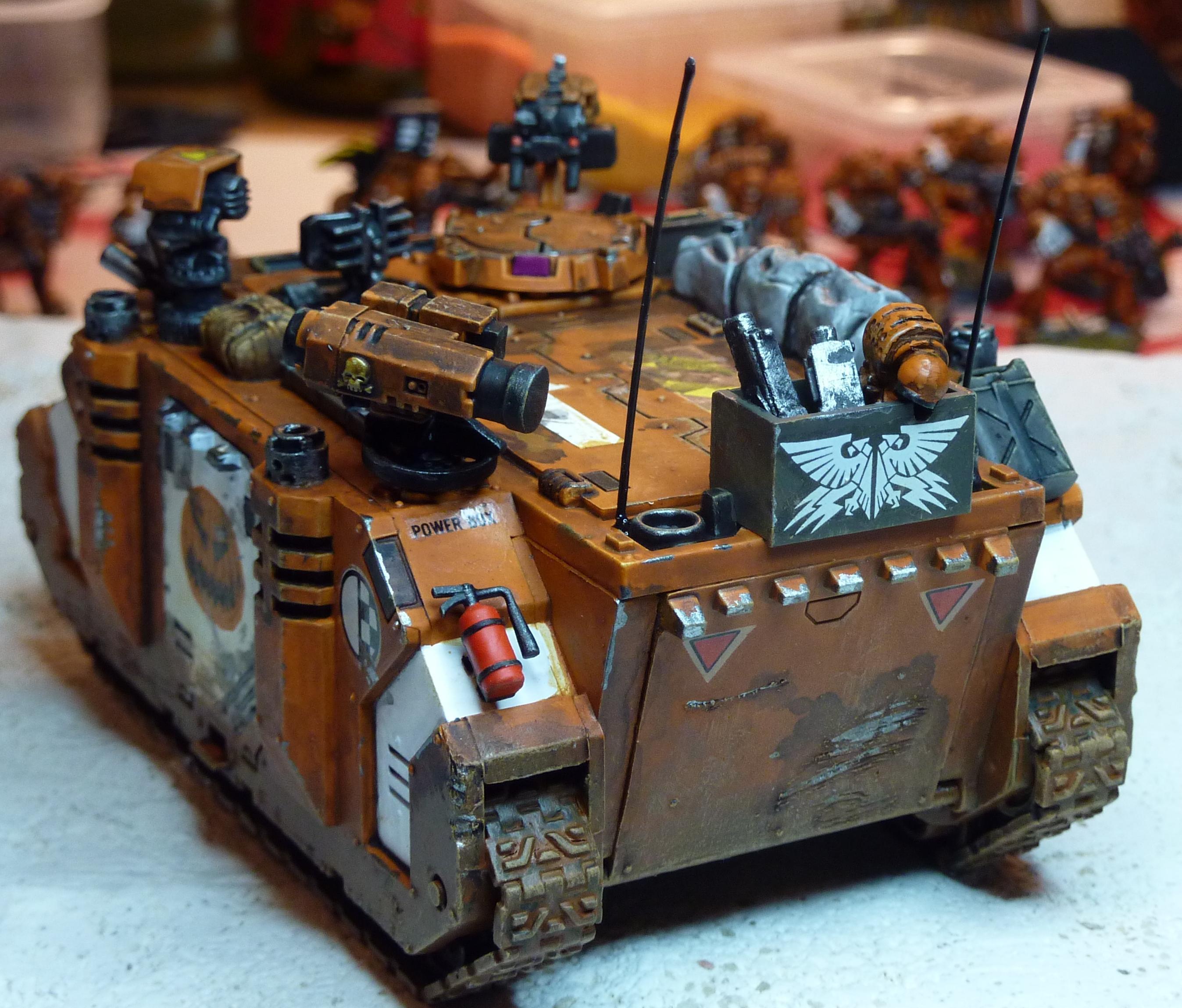 Space Marines, Tank
