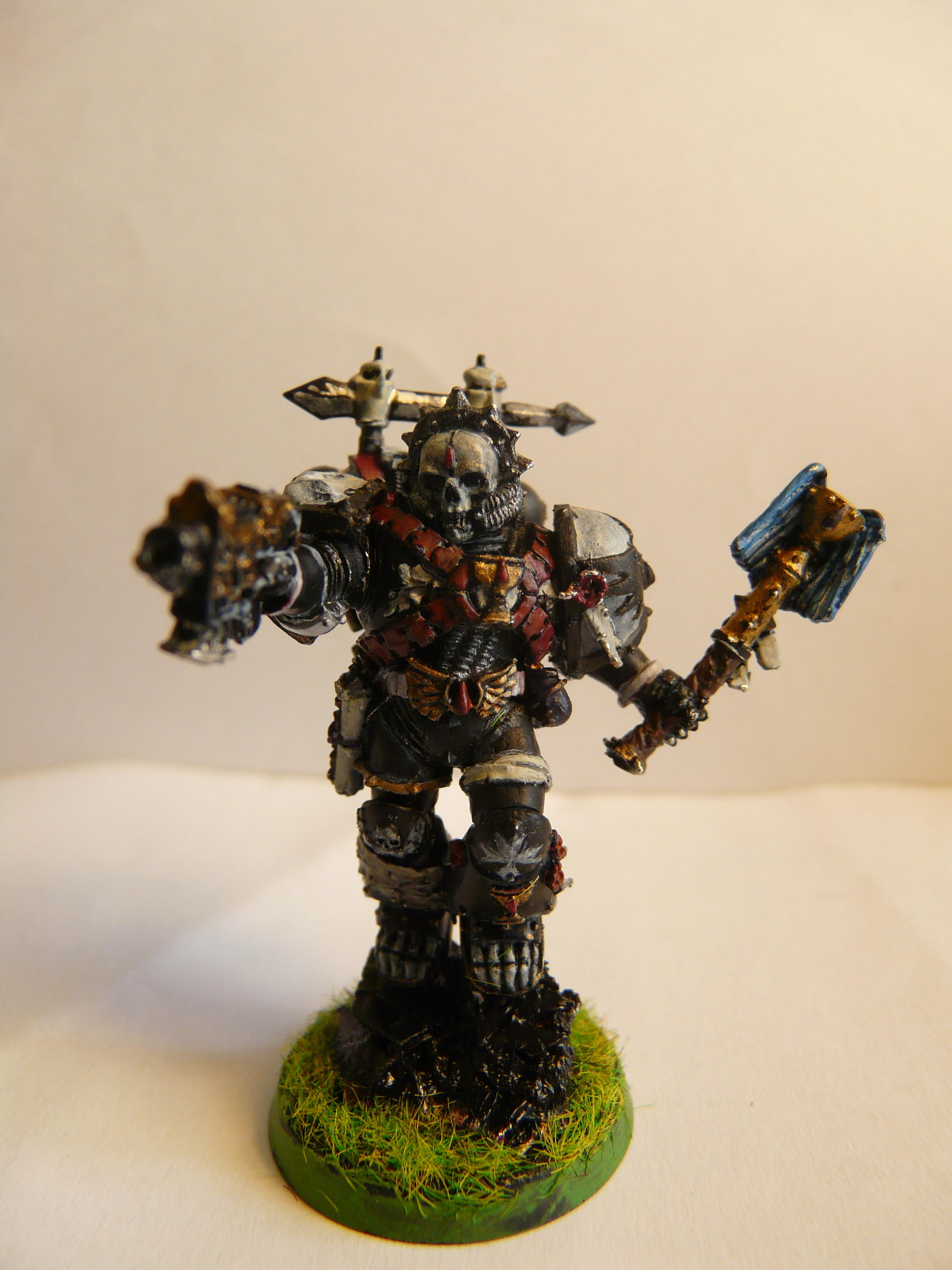 Chaplain, Lemartes with a different backpack