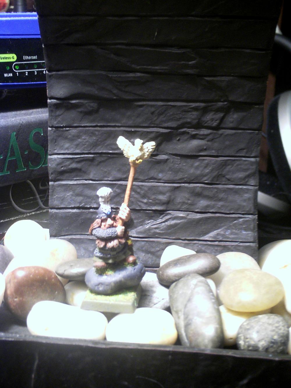 Base, Battle, Bearer, Dwarves, Miniature, Painting, Standard, Standard Bearer, Warhammer Fantasy