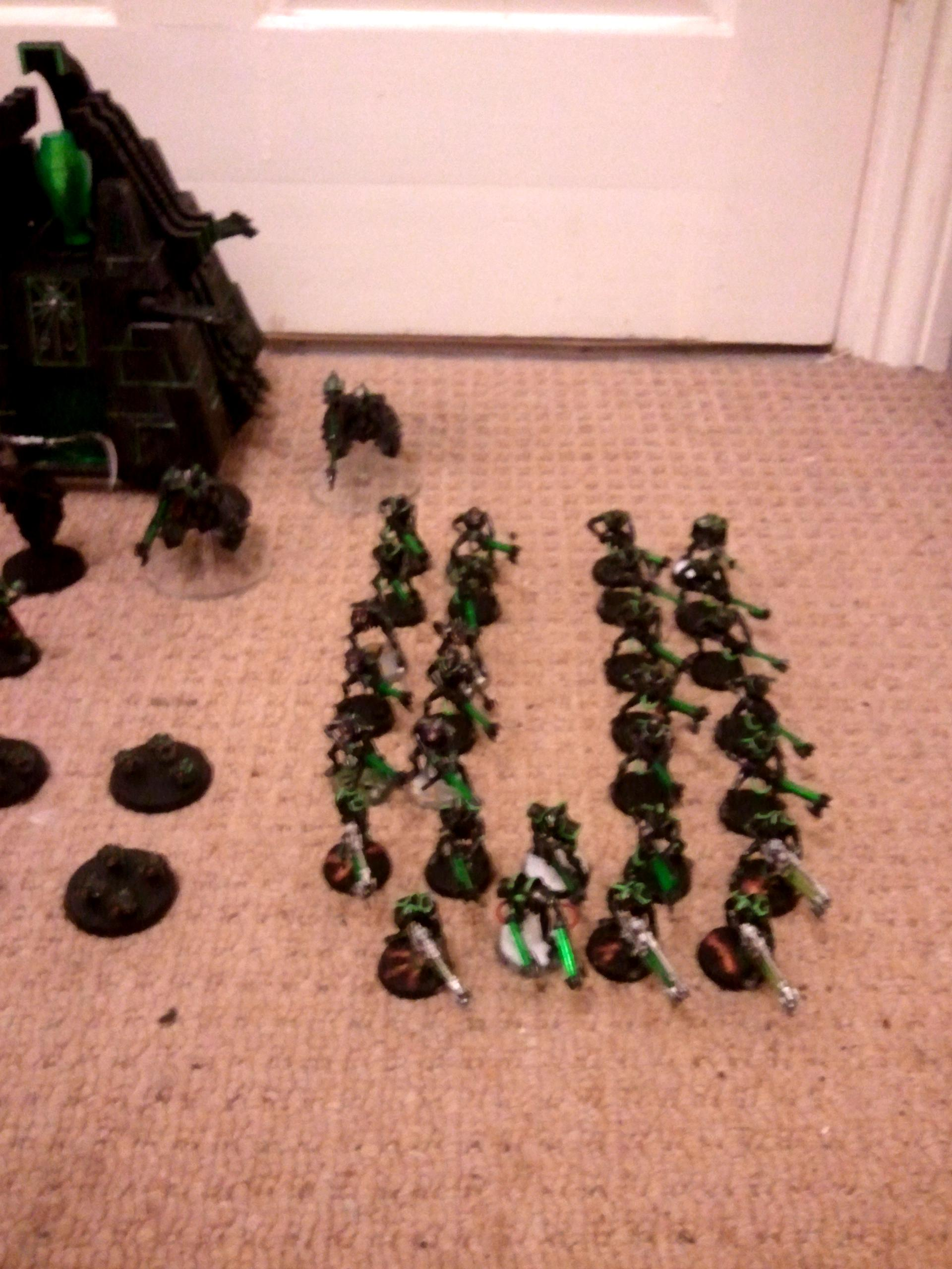 Necrons, right flank