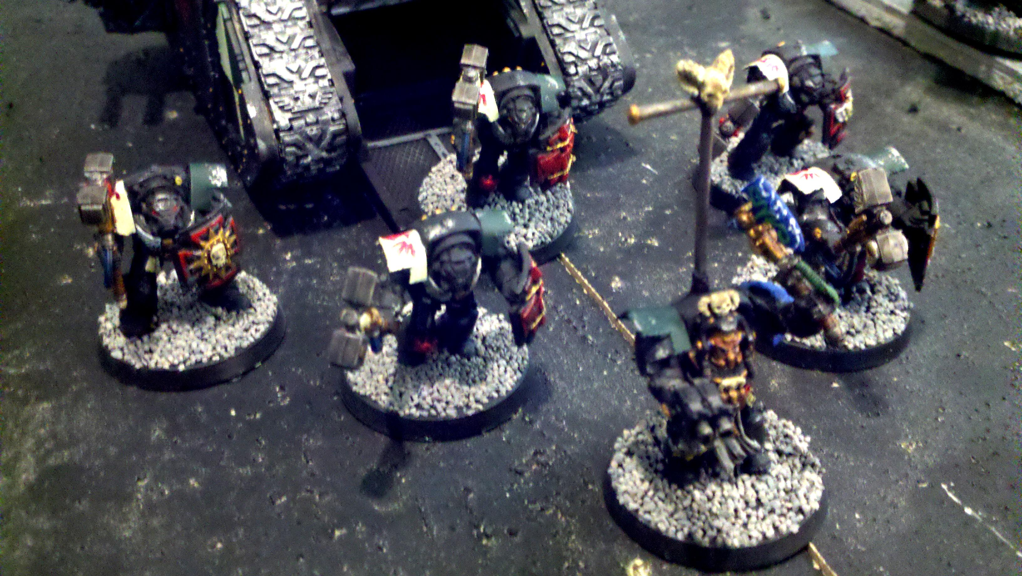 Assault Terminators w/ Librarian