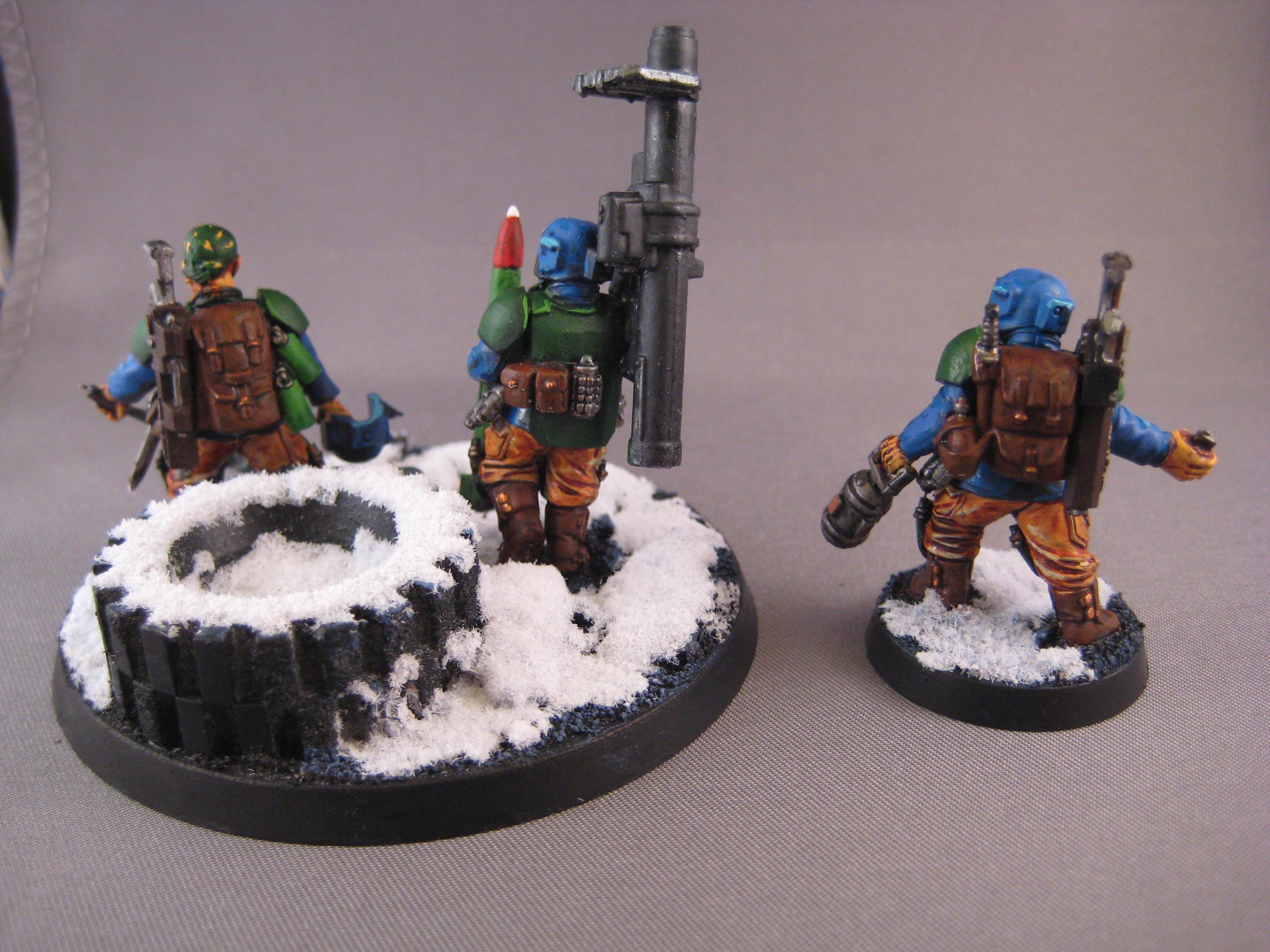 Conversion, Imperial Guard, Veteran, Voidsuits