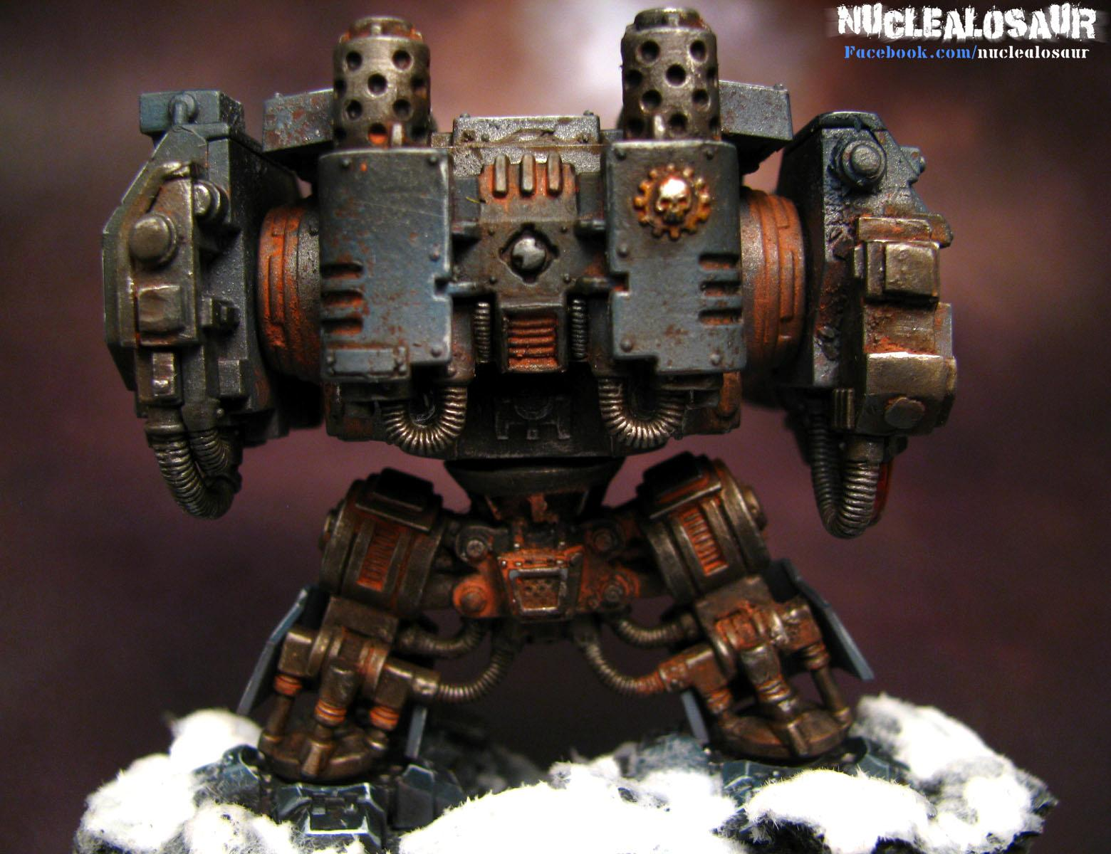 Dreadnought, Rust, Space Marines