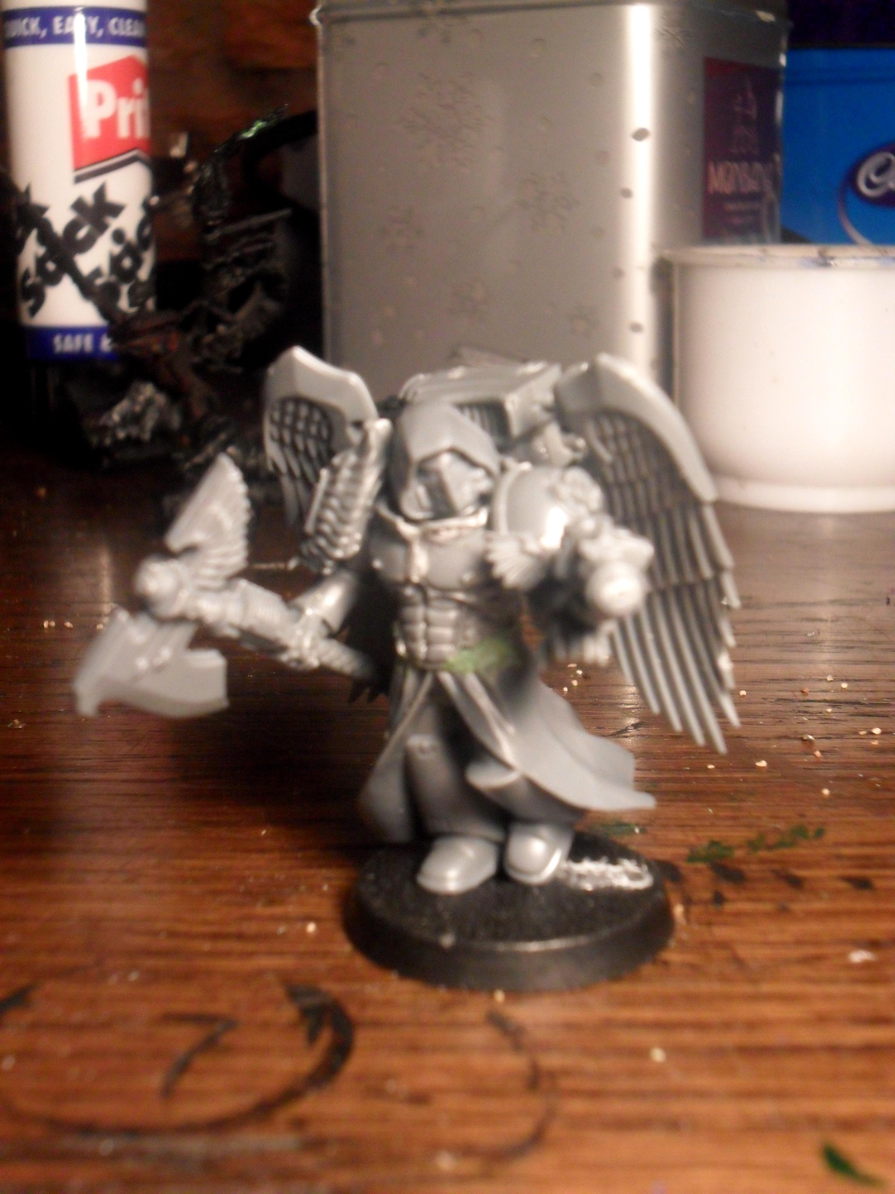 Angel, Blood, Conversion, Dark, Encarmine, Glaive, Green, Guard, Sanguinary, Single, Space, Space Marines, Stuff, Thruster