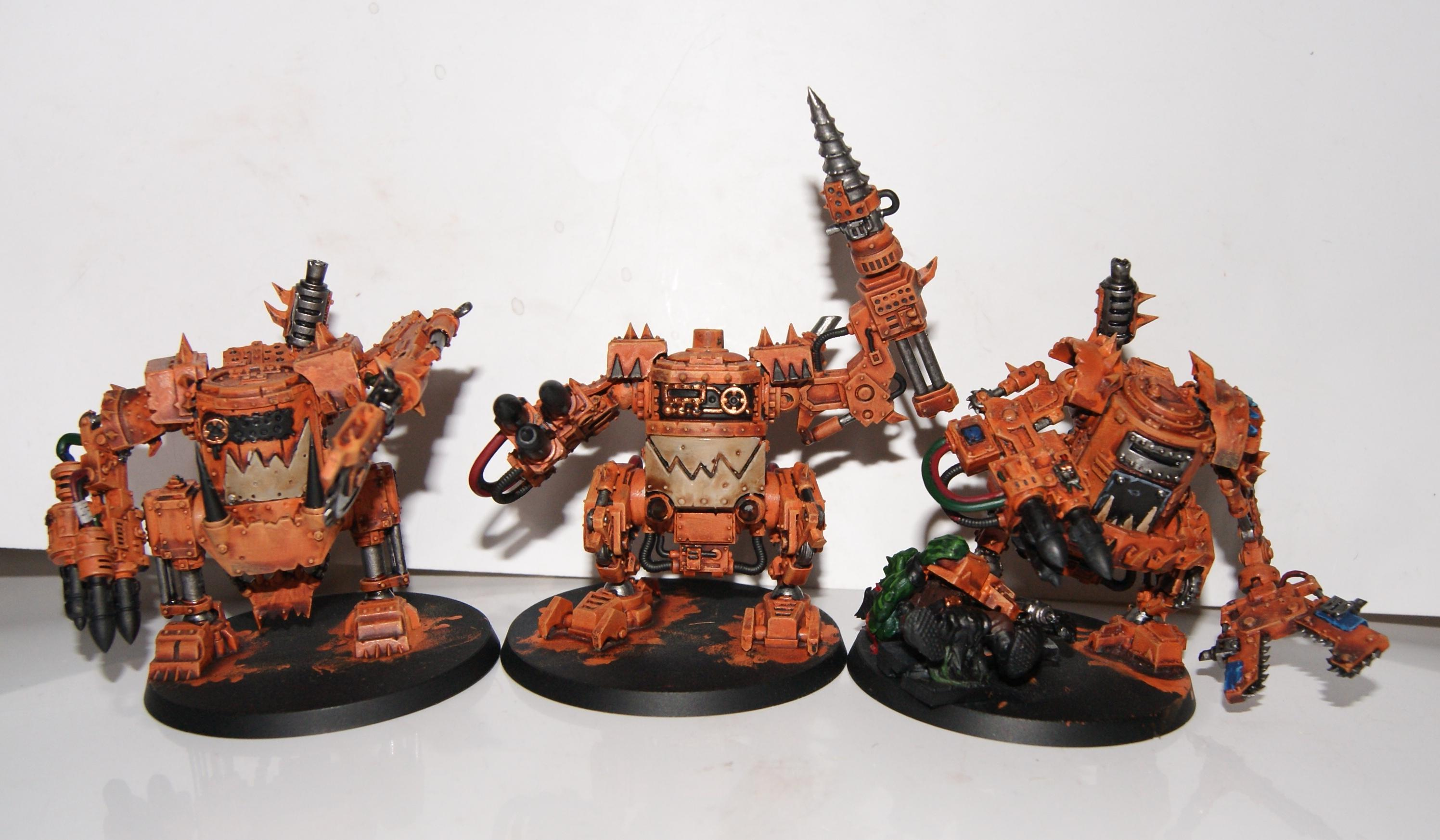 Conversion, Grot Rebellion, Grot Rebels, Grots, Killa Kans, Warhammer 40,000