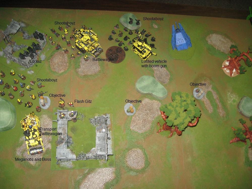 Battle Report, Daemons, Harrowed, Orks