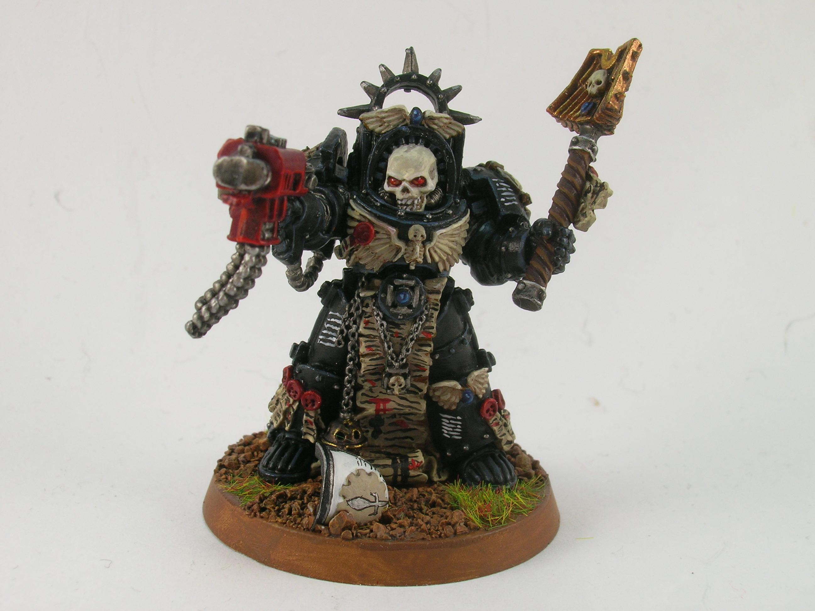 Chaplain, Painted Around 2009 To Current, Space Marines, Terminator Armor
