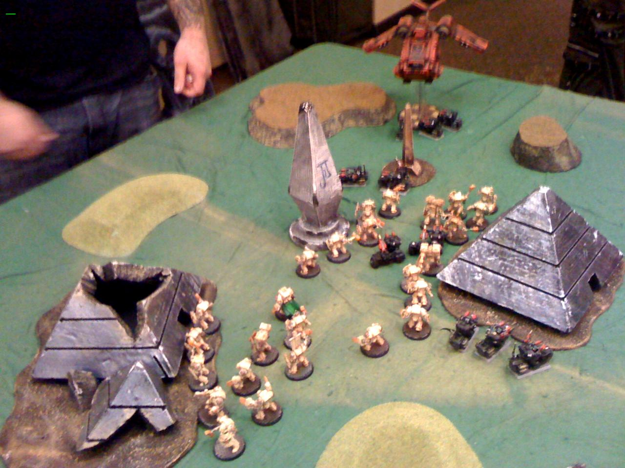 Battle Report, Blood Angels, Deathwing, Genghis Con