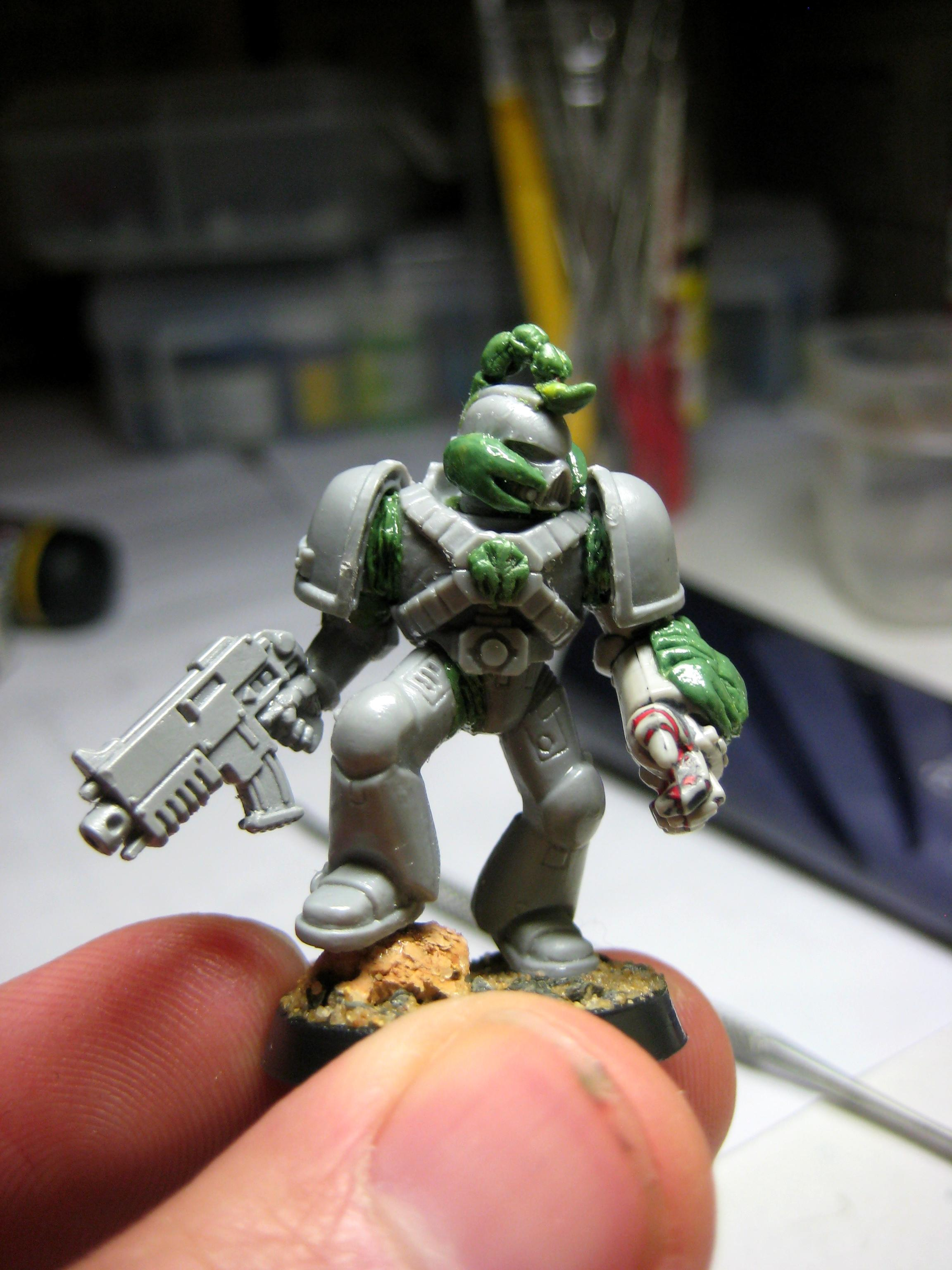 Conversion, Space Marines, Work In Progress