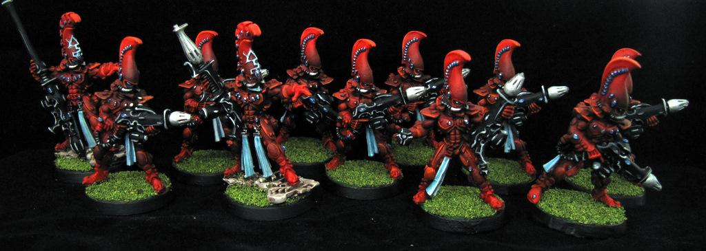 Aspect Warrior, Eldar, Eldar Unit, Fire, Fire Dragon, Red, Warhammer 40,000