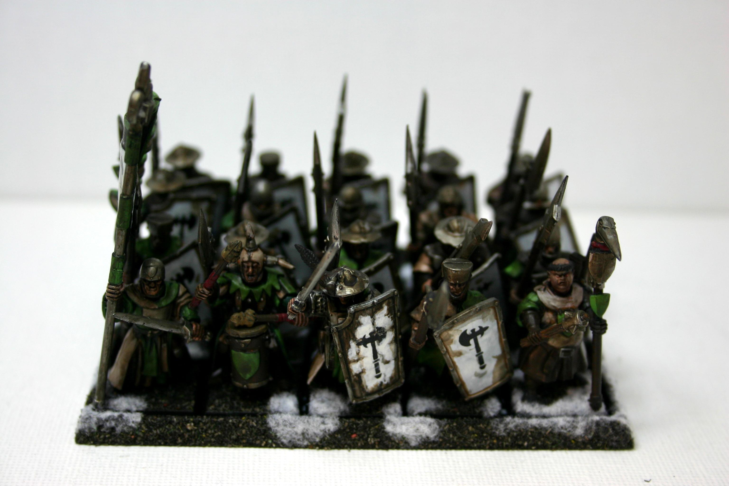 Bretonnians, Men At Arms