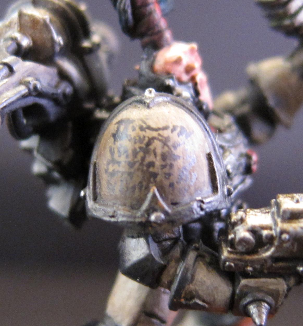 Chaos, Chaos Space Marines, Conversion, Object Source Lighting, Space Marines