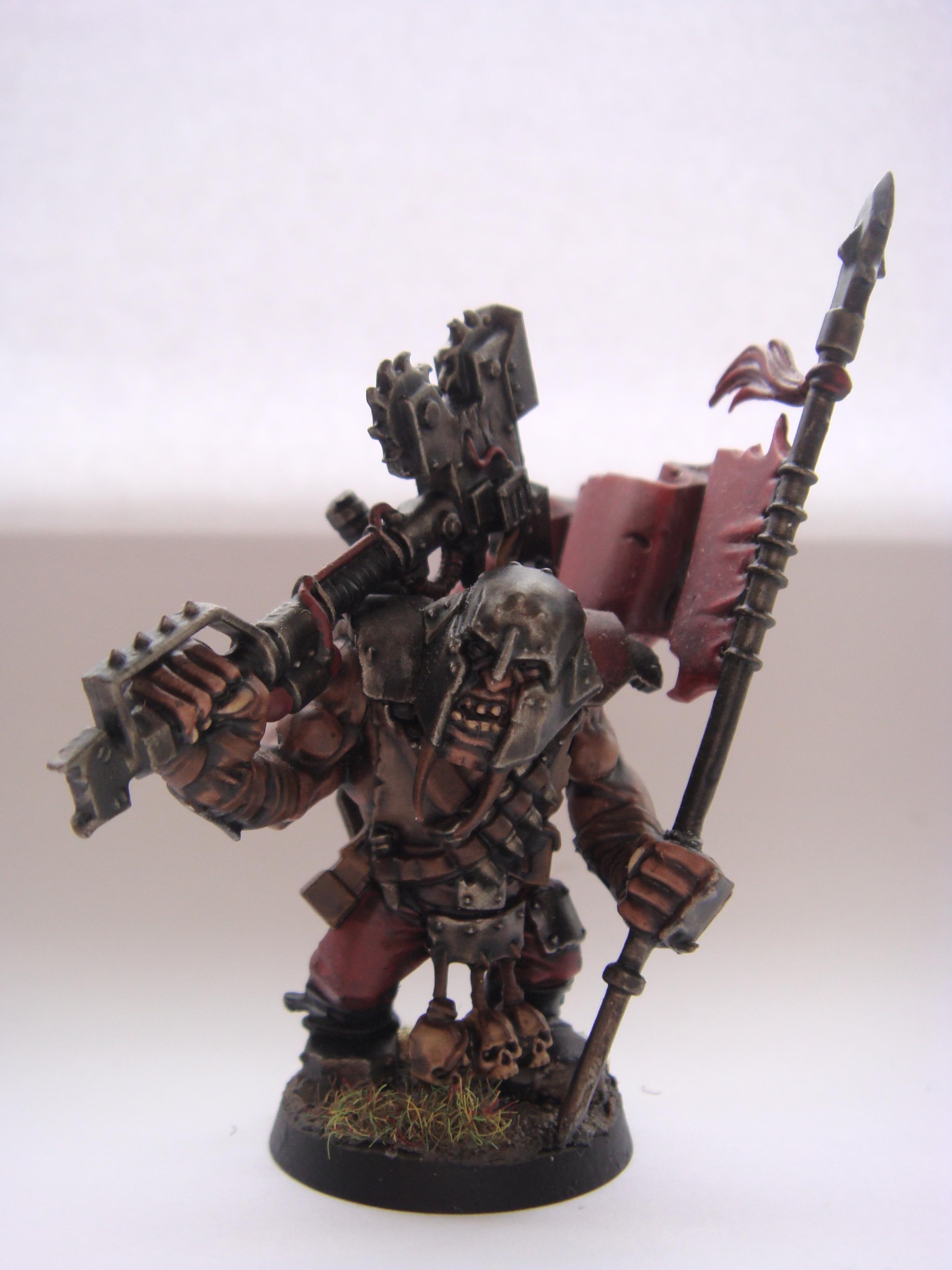 Ogryns, Orks, Raaawr! Banner #1 Front