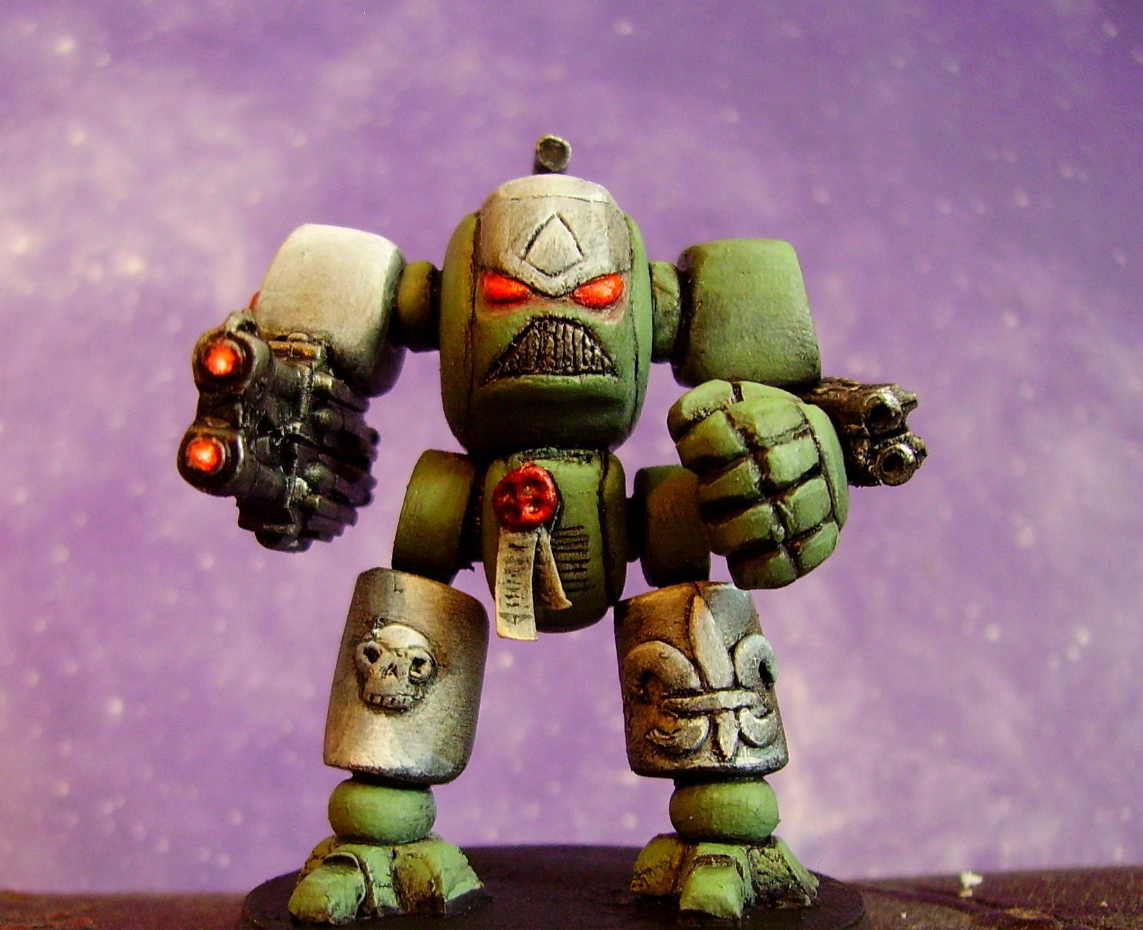 Dreadnought, Dred, Rogue Tarder, Rt, Scratch Build
