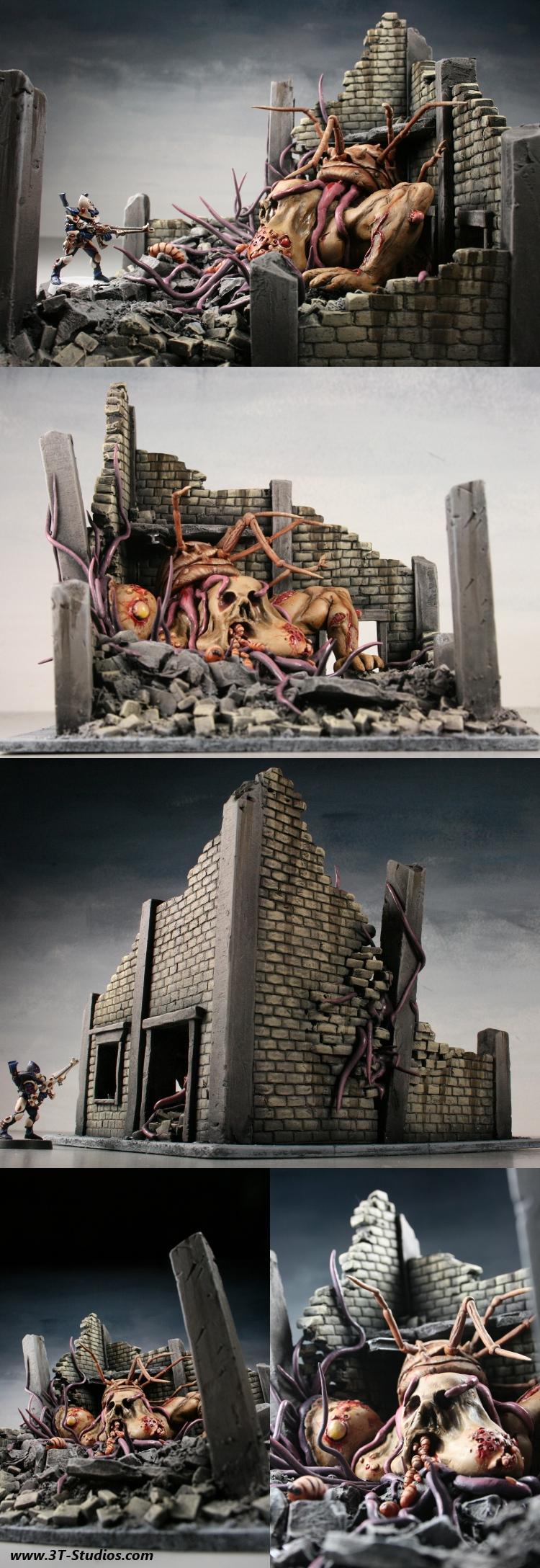 Nurgle, Ruins, Nurgle Infested Ruins Montage