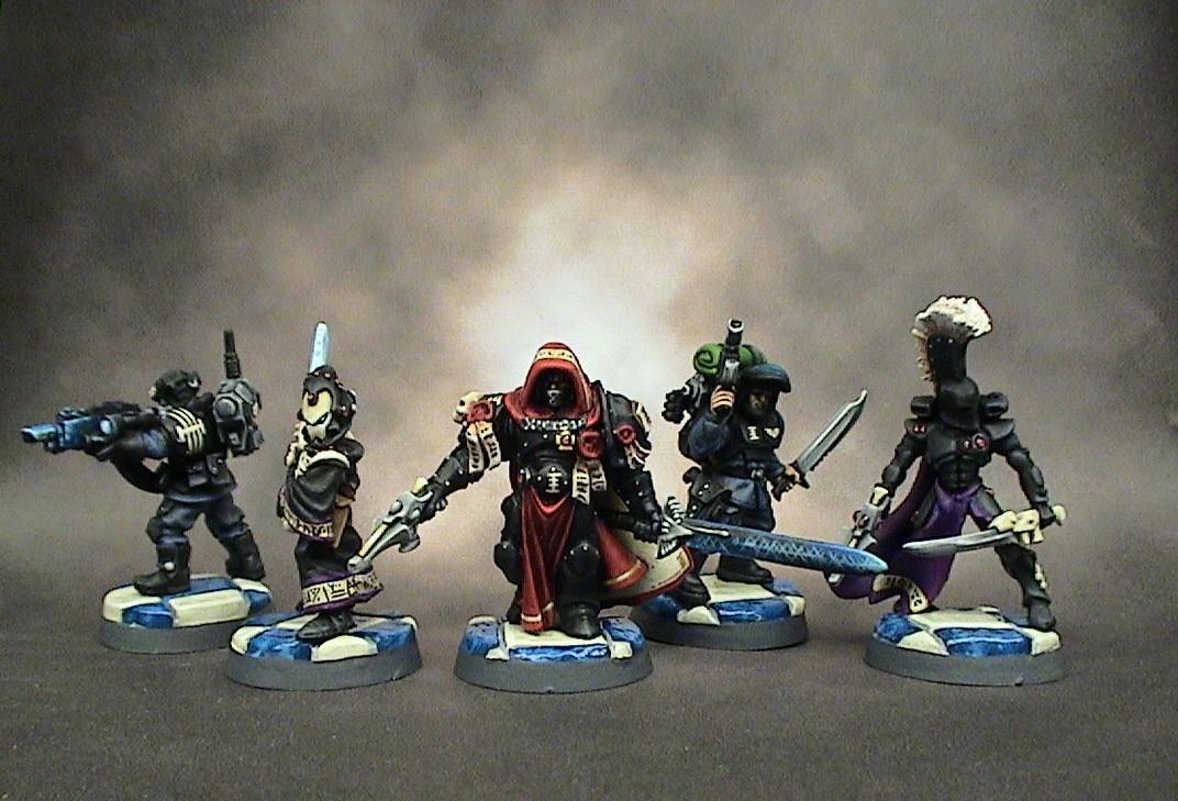 =][=munda, Inquisitor, Warhammer 40,000