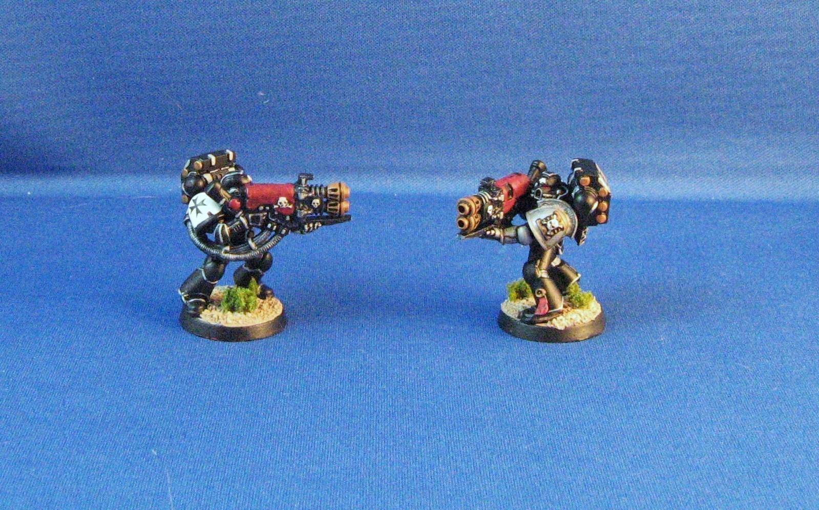 Black Templars, Deathwatch, Heavy Flamer, Sternguard