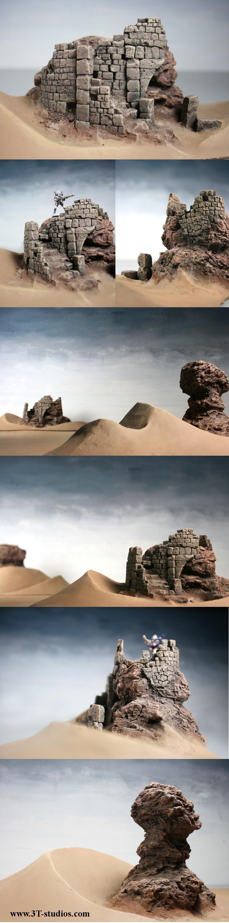 3t, Desert, Dunes, Terrain