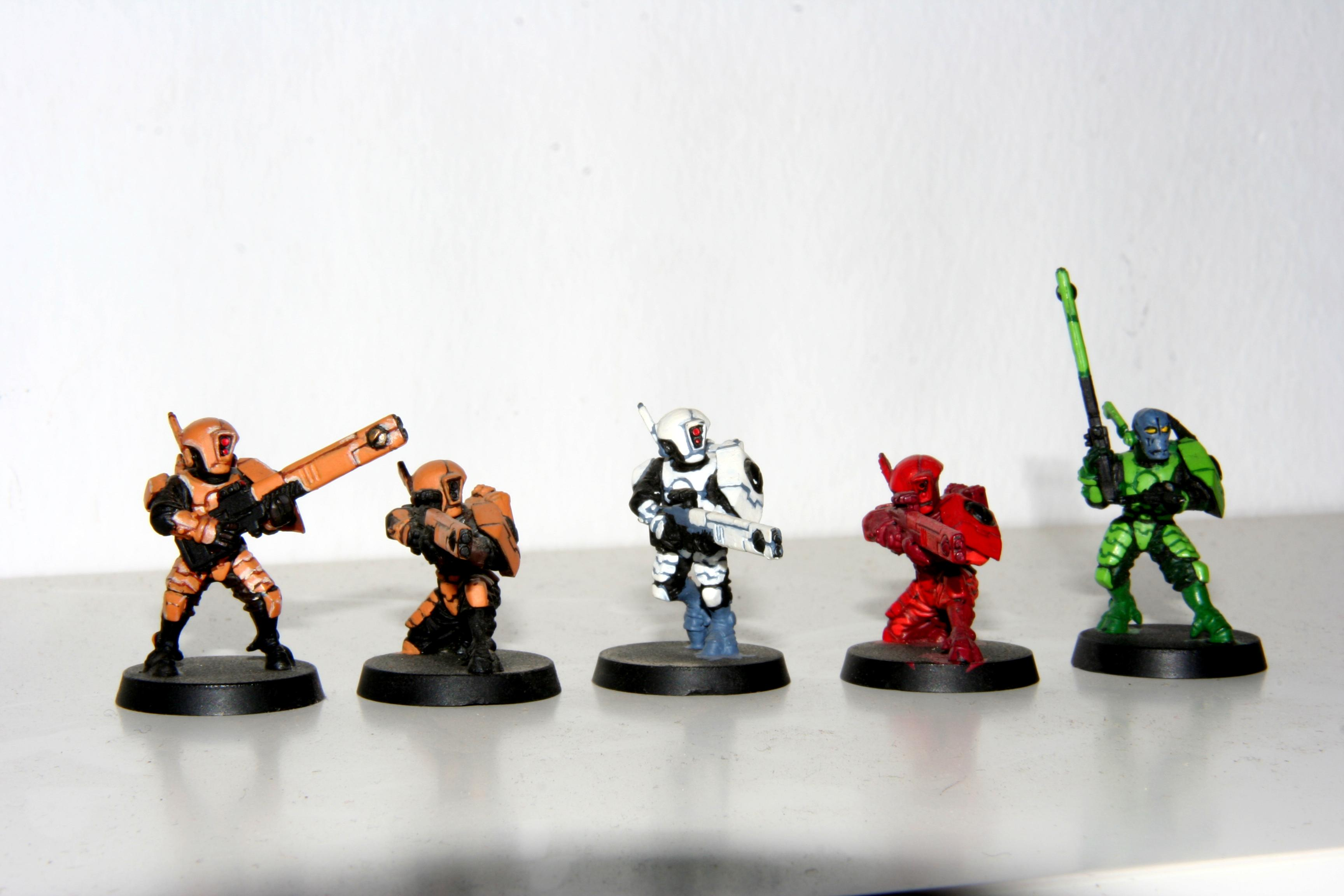 Camouflage, Fire Warriors Colors, Tau