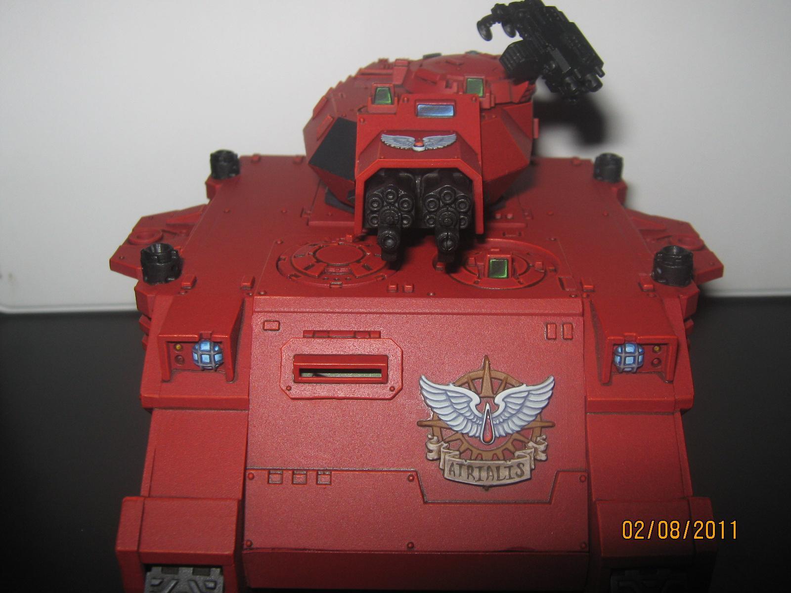 Baal Predator, Blood Angels, Space Marines, Warhammer 40,000