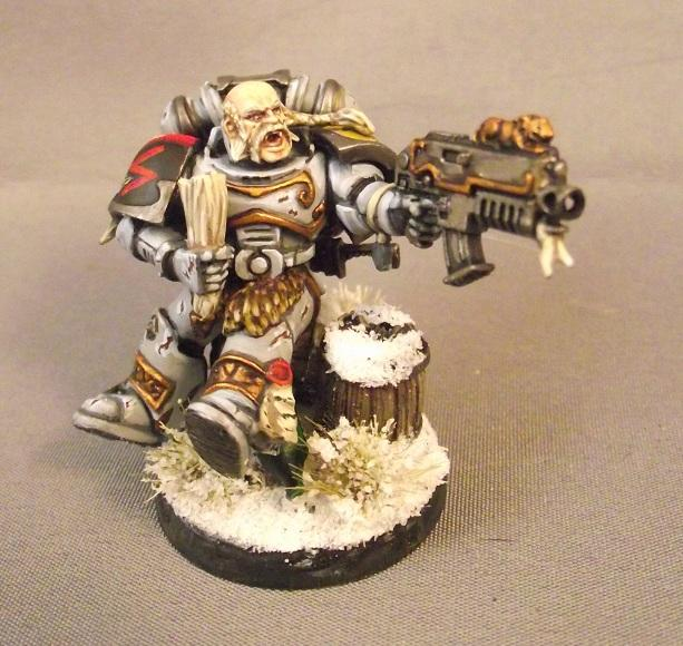 Space Wolves, I'm too drunk to taste this chicken